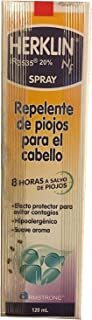 Herklin Repelente de piojos Para el Cabello/Lice Repelent Spray w Dcache Exclusive Gift