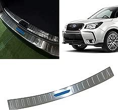 Toryea Rear Bumper Protector Accessory Trim Cover Fit Subaru Forester 2013 2014 2015 2016 2017 2018