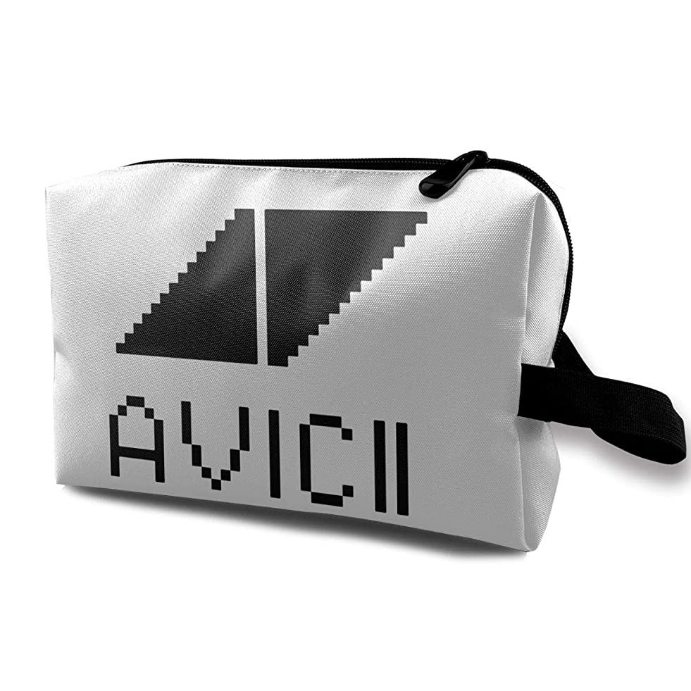 多数の声を出して鯨Joycego Avicii アヴィーチー ポーチ バッグ 化粧バッグ 収納袋 ジッパー付きポータブル メイクポーチ