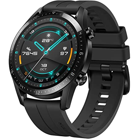 Huawei Watch GT 2 2019 Bluetooth Smart Watch, Sport GPS 14 Days Working Fitness Tracker, Blood Oxygen Monitor Heart Rate Tracker Waterproof for Android and iOS
