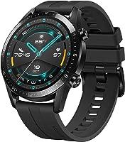 Huawei LTN-B19-BK GT 2 Smart Watch with Fluoroelastomer