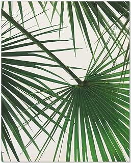 Tropical Leaf Print, Palm Tree Print, Palm Leaf Print, Palm Tree Art, Wall Art, Green Wall Decor, Tropical Art, Palm tree, Plant Wall Art, Green Plant, Green Leaves Art, Leaves Poster, 8x10 Inch
