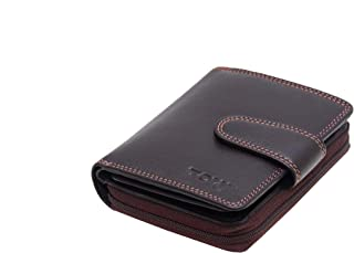 TOUGH Genuine Leather Wallets for Women High Quality- Brown