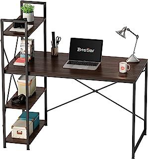 Bestier Computer Desk with Storage Shelves 47 Inch Home...