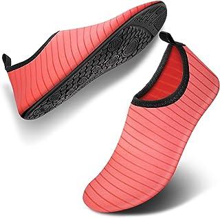 Bigib Women's Men's Aqua Socks Womens Water Shoes for Women
