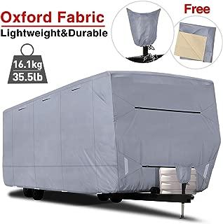 cover camper in winter