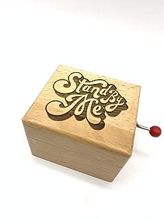 Carillon in legno con inciso Stand by me