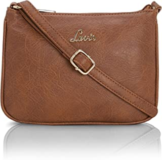 Archer Horizontal Textured Zip Sling Bag