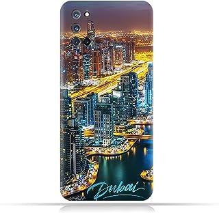 AMC Design TPU Mobile Case Cover for Oppo A92 with Dubai Marina Pattern