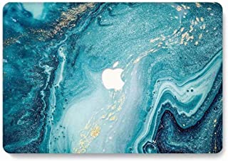 MacBook Air 11 Case - AQYLQ MacBook Pro 11.6 inch Landscape Pattern Hard Shell Protective Case Cover for MacBook Air 11.6'' (Model: A1370/A1465) - Creative Wave