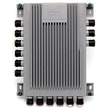 [DIAGRAM_0HG]  Amazon.com: DIRECTV SWM16 Single Wire Multi-Switch (16 Channel) (SWM-16):  Electronics   Swm 16 Wiring Diagram      Amazon.com