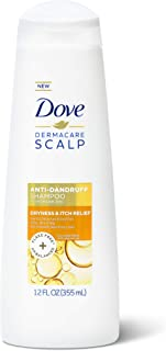 Dove Dermacare Scalp Shampoo, Dryness Itch Relief,12 Ounce