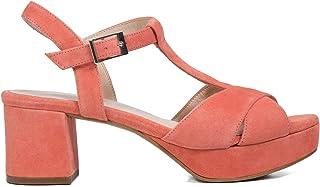 674a167c Zapatos miMaO. Zapatos Piel Mujer Hechos EN ESPAÑA. Sandalia Tacón Ancho  Mujer. Sandalias