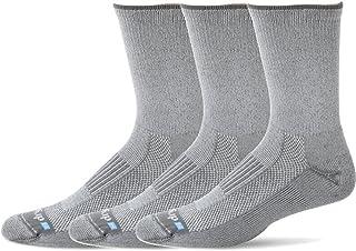 Drymax Socks Lite Hiking Crew - Gray W7.5-9.5, M6-8 - 3 Pack
