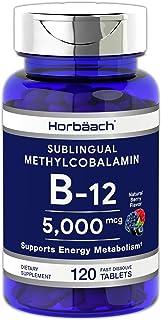 Sponsored Ad - B12 Sublingual Methylcobalamin | 5000mcg | 120 Fast Dissolve Tablets | Vegetarian, Non-GMO and Gluten Free ...