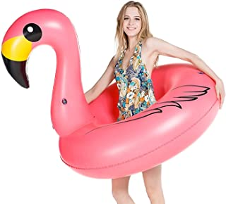 Sponsored Ad - Jasonwell Giant Inflatable Flamingo Pool Float Party Float Tube with Fast Valves Summer Beach Swimming Pool...