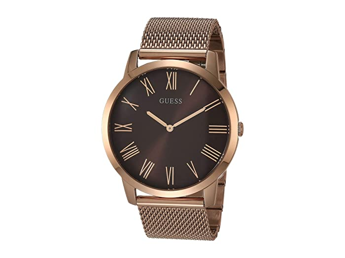 GUESS  GW0074G1 (Rose Gold-Tone/Brown) Watches