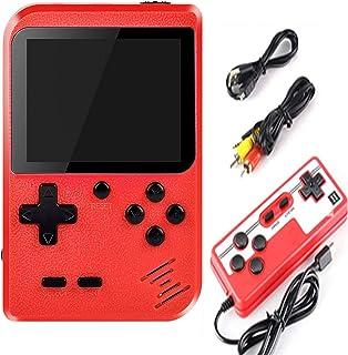 Malidily Consoles de Jeux Portable, Console De Jeu Retro avec 400 Jeux Classiques, pour 2 Joueurs Meuble TV Consoles de Je...