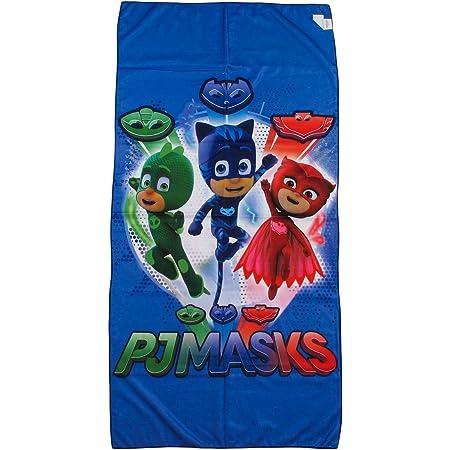 """Toalla de playa """"PJ Masks - Héroes en pijamas"""", para niño y niña, de 70 x 140 cm"""