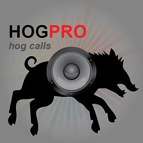 REAL Hog Hunting Calls, Hog Calls, Boar Calls App for Hog Calling & Wild Boar Calling - BLUETOOTH COMPATIBLE