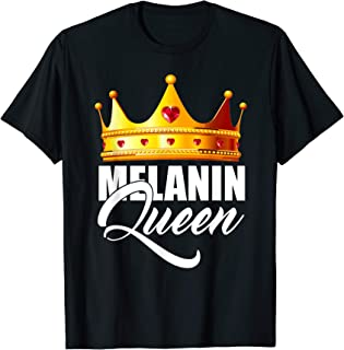 Melanin Queen - Black Lives Matter - Black Pride T-Shirt