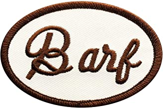 Barf Mog Spaceballs Halloween Cosplay Costume Patch (Iron on sew on - BAR1)