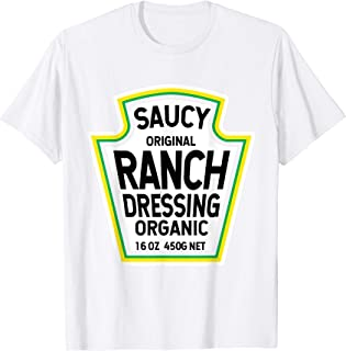Ranch Dressing Salad Easy Halloween Costume Matching Group T-Shirt