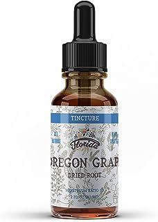 Oregon Grape Tincture, Organic Oregon Grape Extract (Mahonia aquifolium) Herb Health Supplement, Non-GMO in Cold-Pressed O...