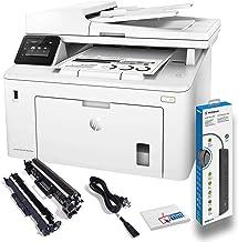 $433 » Hewlett Packard Laserjet Pro MFP M227fdw Wireless Laser All-in-One Monochrome Printer with Power Strip Surge Protector + E...