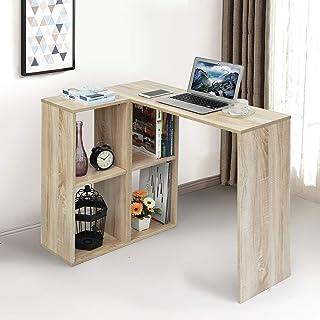 FurnitureR Mesa de Escritorio de Estudiante de Haya con esta