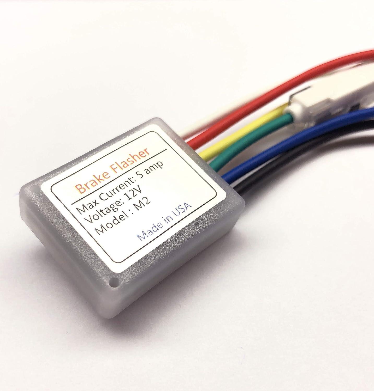 10-30V Car Flash Strobe Controller Flasher Module Adapter for Side Brake Light
