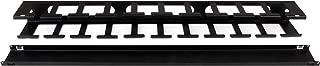 StarTech.com 服务器机架电缆管理CMDUCT1UX Finger Duct 1U