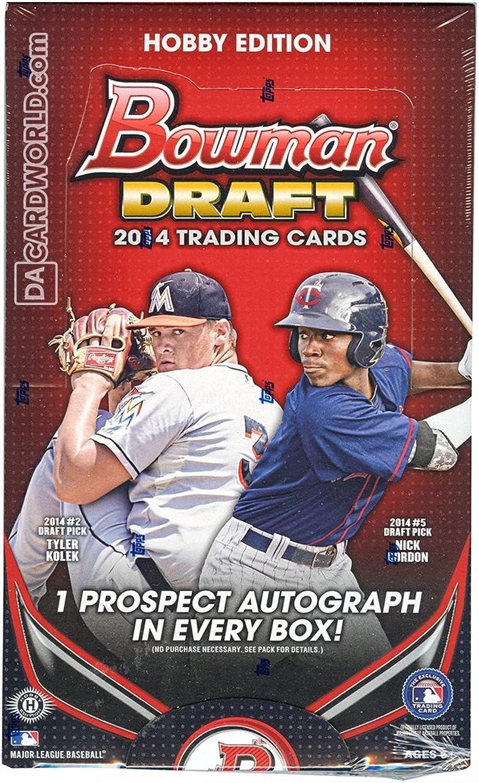 2014 Bowman Draft Hobby Baseball Box