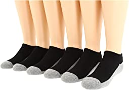 Jefferies Socks - Seamless Sport Low Cut Six Pair Pack (Infant/Toddler/Big Kid/Adult)
