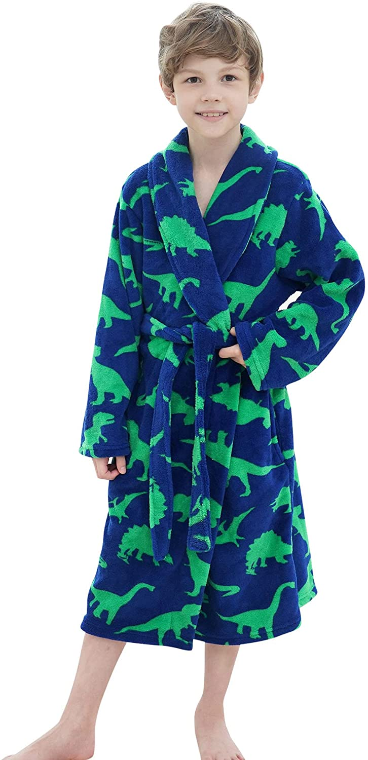 Simplicity Kids Cover Year-end annual account UP Girls Boys Soft Fuz New sales Housecoat Beachwear