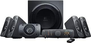 Logitech Z906 5.1 Surround Sound Speaker System, Black