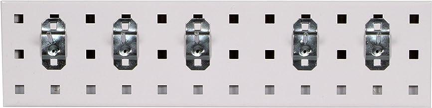 Locboard LBS18K-WHT Beyaz Anahtarlık Stecktafel şerit kiti,