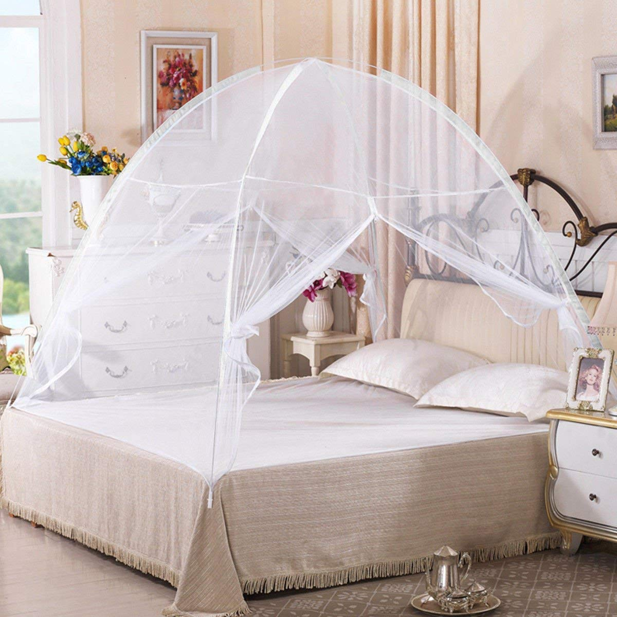 Goplus Folding Mosquito Portable Curtains