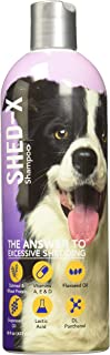 Shed-X Shed Control Shampoo for Dogs and Cats, 16oz – Reduce Shedding, Dander, Allergens – Infuses Skin and Coat with Vita...