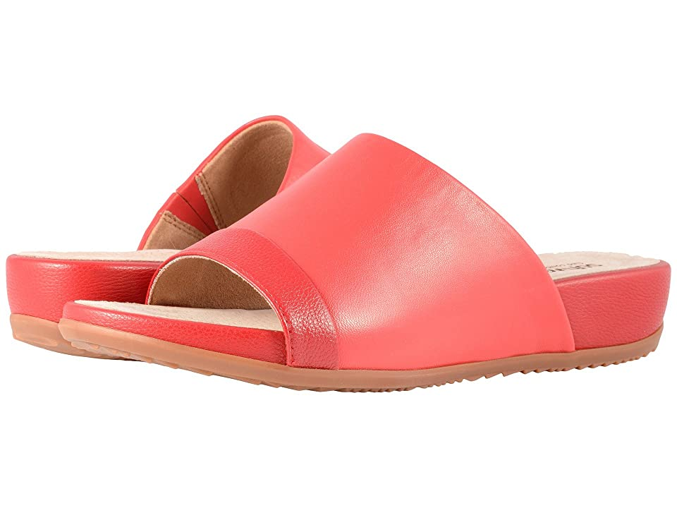SoftWalk Del Mar (Red/Dark Red Soft Leather) Women