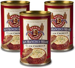 San Francisco Boudin Clam Chowder Soup -3 pack