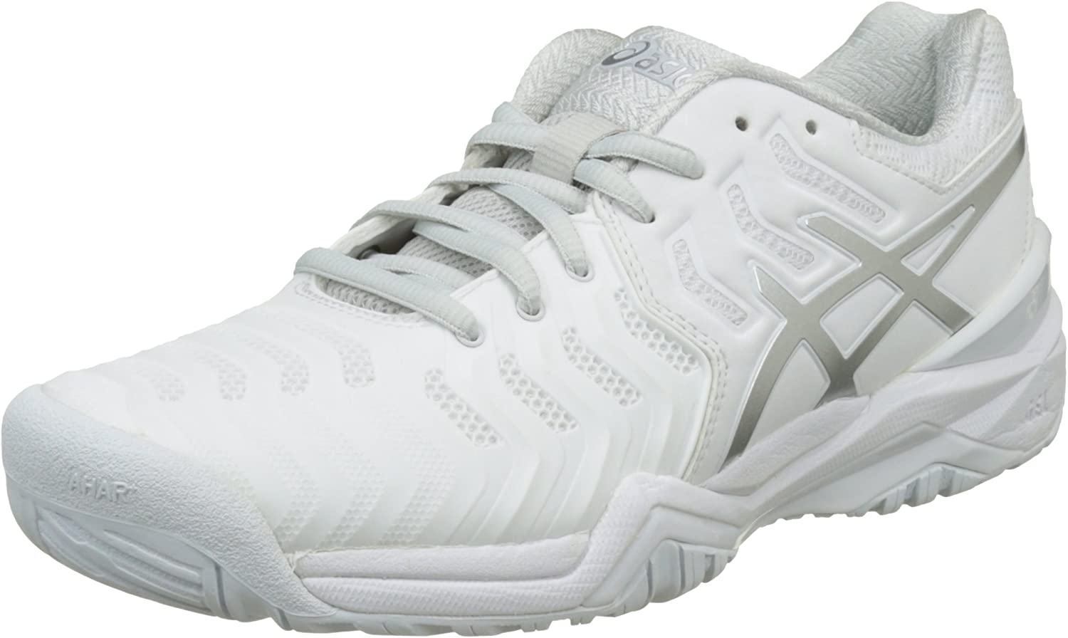ASICS Gel-Resolution 7 Ladies Tennis shoes White Silver
