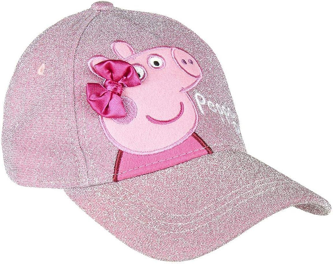Peppa Pig Girls Baseball Sun Max Trust 87% OFF Premium Embroidery Glitter Deco Cap