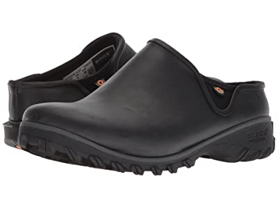 Bogs Sauvie Clog Solid (Black) Women