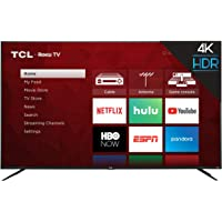 TCL 65S425 65-inch Roku 4K UHD HDR Smart TV
