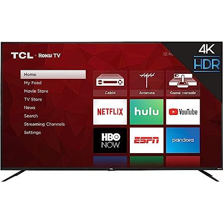 TCL 75S425 75 Inch 4K UHD HDR Smart Roku TV (2019)