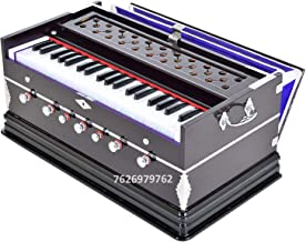 JAPS BIZ Harmonium- 3 1/4 Octave, Double Bellow, 39 Keys,7 Stopper, 2 Reeds (Bass- Male), With Cover and free carry bag