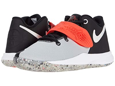 Nike Kids Kyrie Flytrap III MTF (Little Kid) (Black/White/Light Smoke Grey/Bright Crimson) Kid