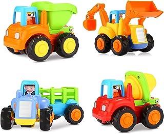 Popsugar Happy Engineering Vehicles Including Tractor / Bulldozer / Dumper / Cement Mixer