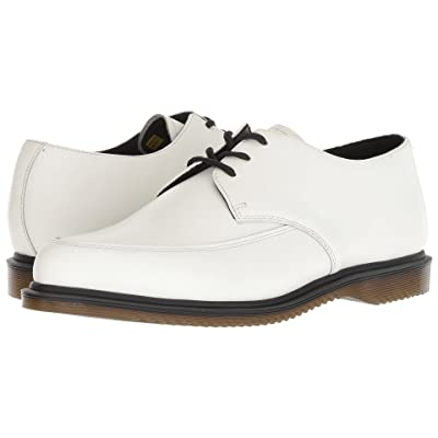Dr. Martens Willis Creeper (White Smooth) Shoes